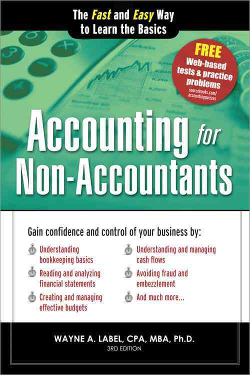 Accounting for Non-Accountants By Label, Wayne